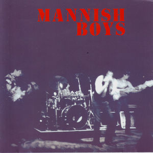 Mannish Boys EP - Cover